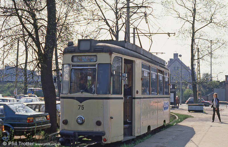 Schoneiche 75 at Friedrichshagen on 10th April 1991.