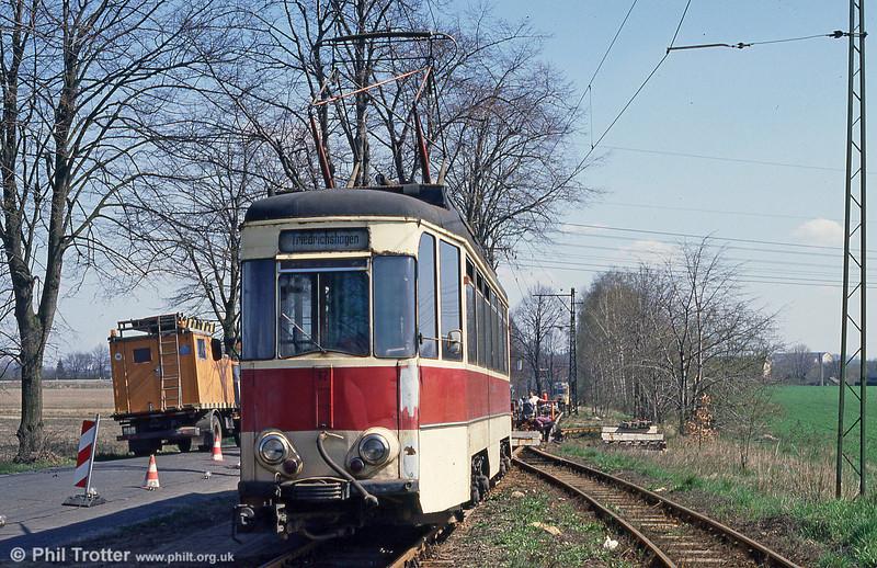 Schoneiche 62 at Schoeneicher Landstrasse on 10th April 1991.
