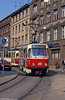 Tatra T3D 151 at Hegelstrasse on 15th April 1993.