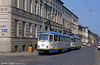 Tatra T3D 154 near the Hauptbahnhof on 15th April 1993.