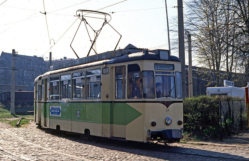 Former Berlin Strausberg REKO 07 at the line's depot.