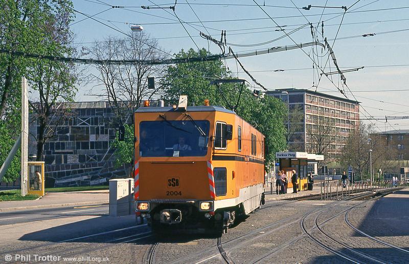 Stuttgart custom built works car 2004 at Berliner Platz on 21st April 1993.