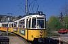 Stuttgart 630 at Botnang on 21st April 1993.