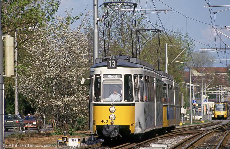 Stuttgart 460 at Giebel on 21st April 1993.