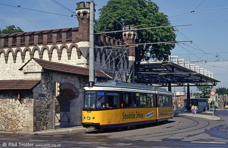 Ulm 8, ex-Stuttgart, on 3rd August 1993.