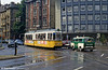 Ulm car 13 and a road accident at Willy Brandt Platz on 3rd August 1993.