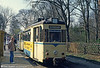 1959 Gotha car 31 ready to return to Woltersdorf at Rahnsdorf on 10th April 1991.