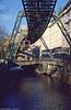 Wuppertal car 8 at Elberfeld on 12th April 1991.