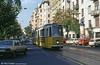 Budapest Ganz CSMG2 1312 at Balassi Bálint utca on 19th August 1992.