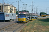 Debrecen 282, a 1962 Ganz 'Bengali' car at the main railway station on 21st August 1992.