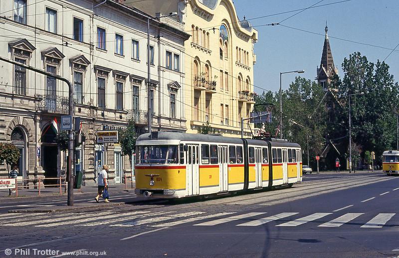 Szeged 804 at Vidra utca on 20th August 1992.