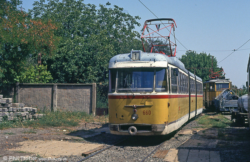 Szeged 660 at Rokus on 20th August 1992.