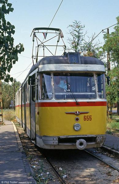 Szeged 655 at Postás sporttelep, 20th August 1992.