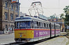 1962-built Szeged 603 waits outside the main railway station on 20th August 1992.