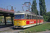 Szeged 608, built by BKV in 1962 at Rokus on 20th August 1992 (First published in Light Rail & Modern Tramway, 2/93).