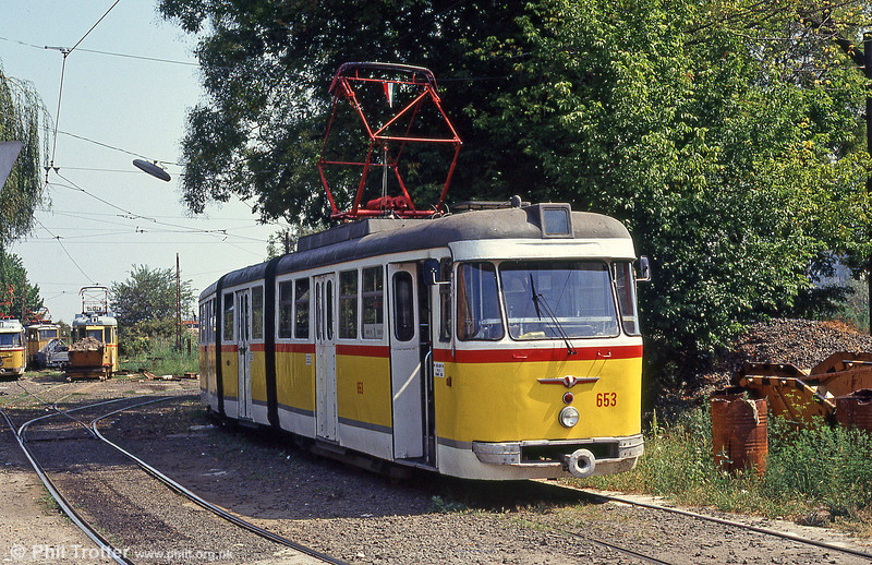 Szeged 653 at Rokus on 20th August 1992