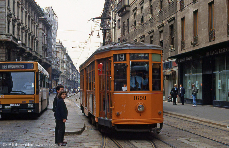 Milano 1699 at Dogana on 21st April 1992.