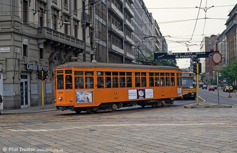 Car 1899 at St. Vittoria on 21st April 1992.