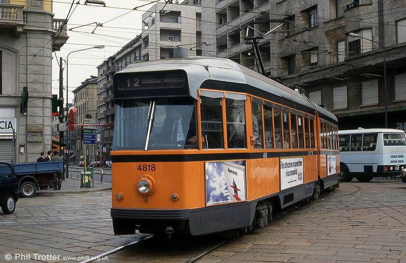 Car 4818 at St. Vittoria on 21st April 1992.