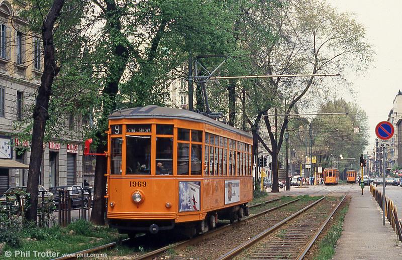 Car 1969 at St. Vittoria on 21st April 1992.