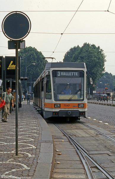 Car 7047 at Piazza della Republicca on 30th July 1993.