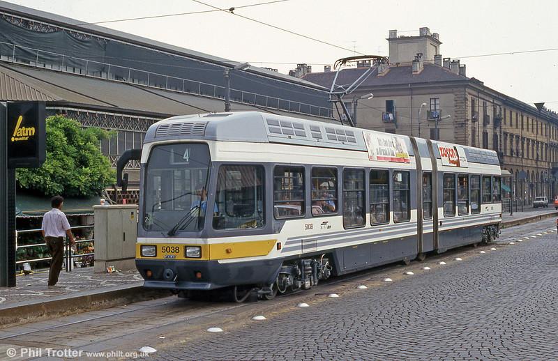 Car 5038 at Piazza della Republicca on 30th July 1993.