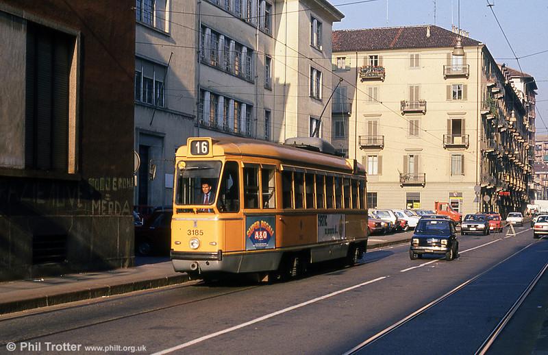 Car 3185 at Rossini on 5th September 1989