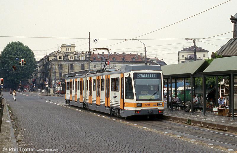 Car 7031 at Piazza della Republicca on 30th July 1993.
