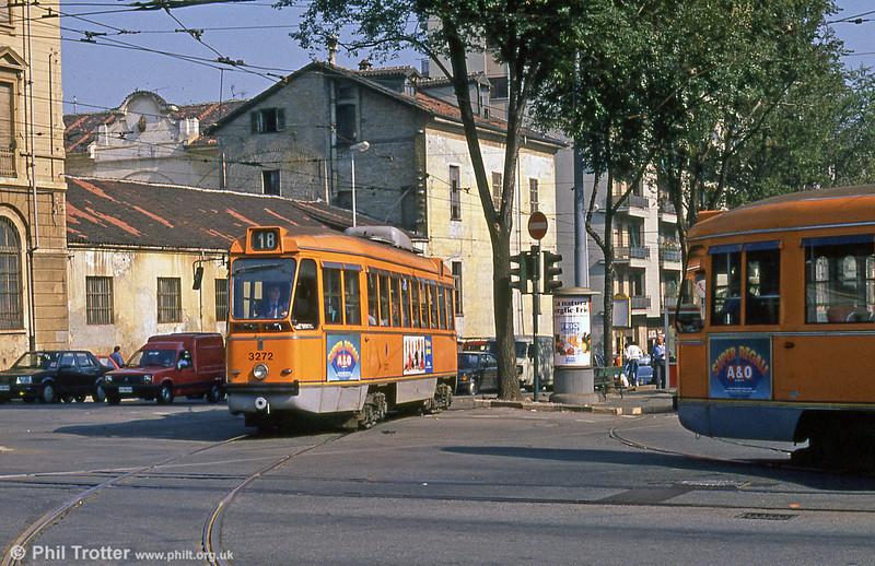 Car 3272 at Fiochetto Satti on 5th September 1989.