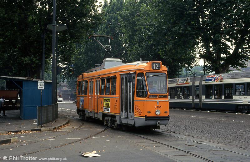 Car 3141 at Piazza della Republicca on 30th July 1993.