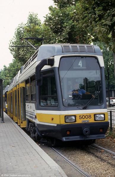 Car 5008 at Settembrini on 30th July 1993.