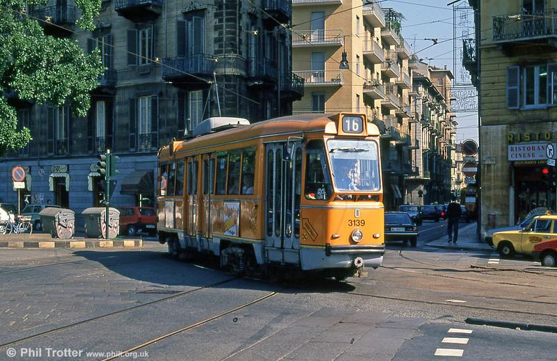 Car 3139 at Rossini on 5th September 1989.
