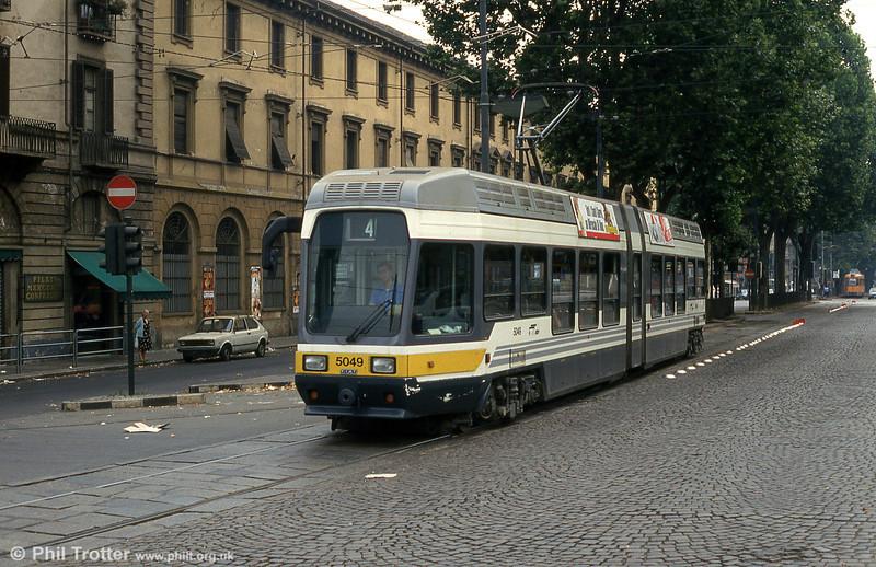 Car 5049 at Piazza della Republicca on 30th July 1993.