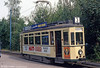 Ex-Kassel car 224 at Amstelveen on the Amsterdam museum line, 27th August 1991.