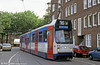 Amsterdam's then new low floor car 834 at Stadion Plein on 27th August 1991.