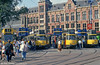 A line up at Centraal Station on 8th August 1990.