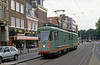 Amsterdam works car H54 at Prinsengracht on 27th August 1991.