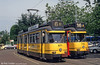 Cars 871 and 710 at Stadion Plein on 27th August 1991.