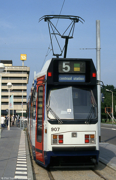 Car 907 at Amstelveen on 27th August 1991.