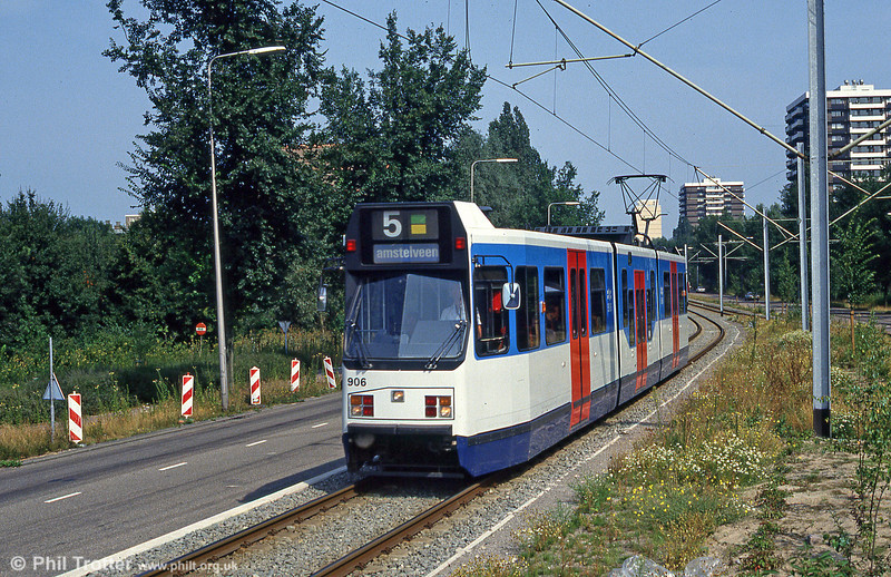 Car 907 at Oranjebaan on 27th August 1991.