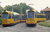 Cars 829 and 849 at Molenlaan on 5th August 1990.