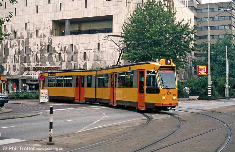 Car 850 at Kruisplein on 14th April 1994.