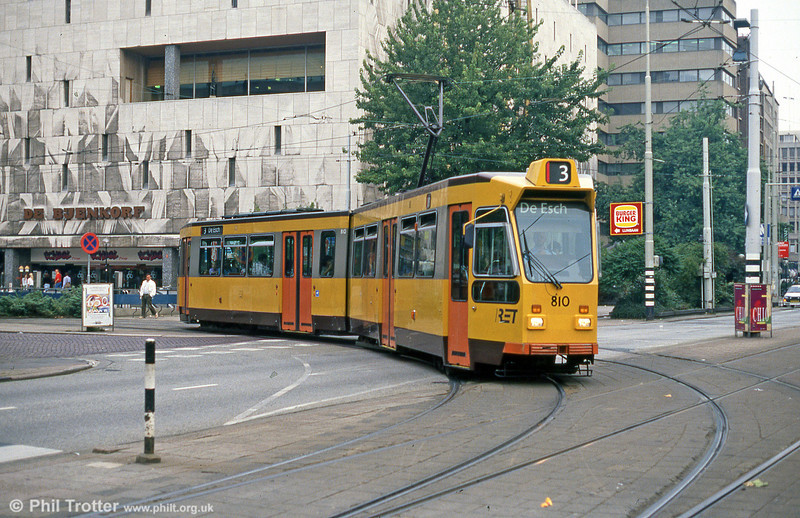 Car 810 at Coolsingel on 8th August 1990.