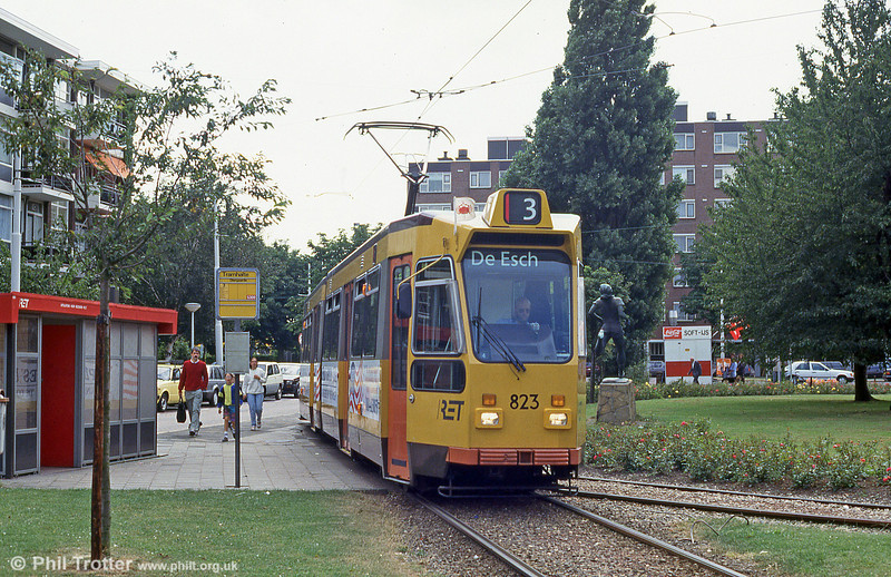 Car 823 at Diergaarde on 28th August 1991.