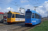 Cars 748 and 706 at Schiedam on 14th April 1994.
