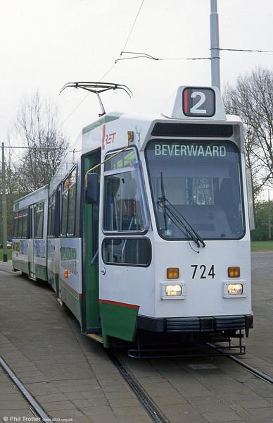 Car 724 at Charlois on 14th April 1994.