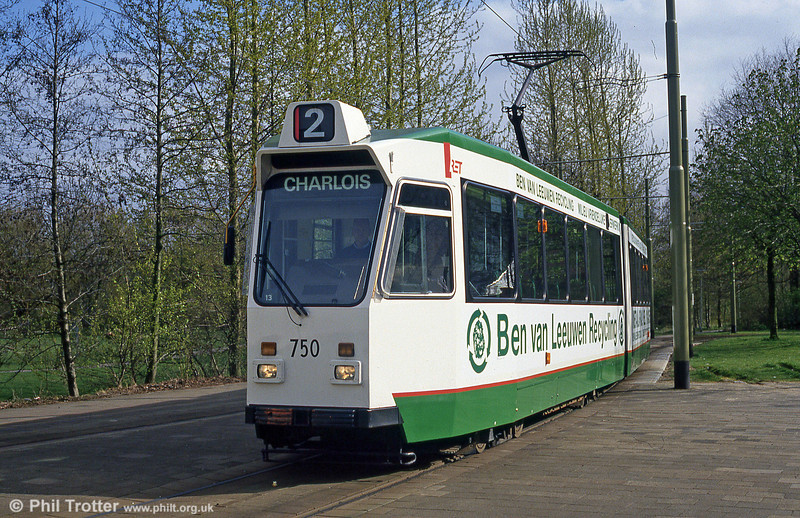 Car 750 at Charlois on 14th April 1994.