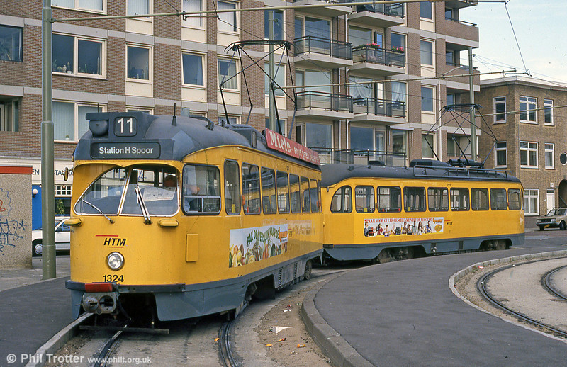 Car 1324 at Scheveningen on 15th April 1994.