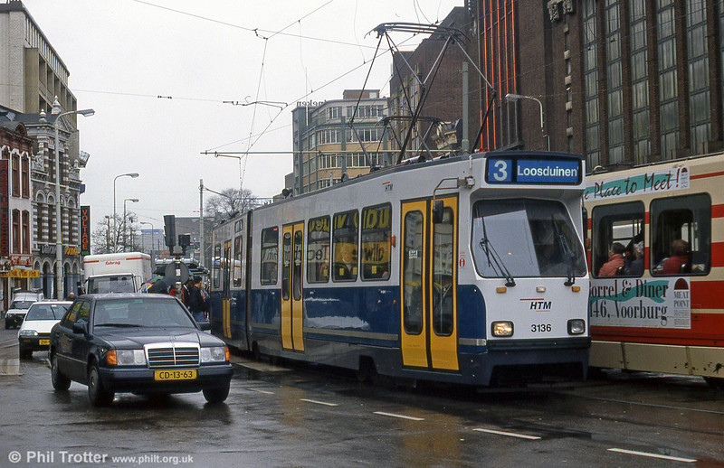 Car 3136 at Hof Weg on 15th April 1994.
