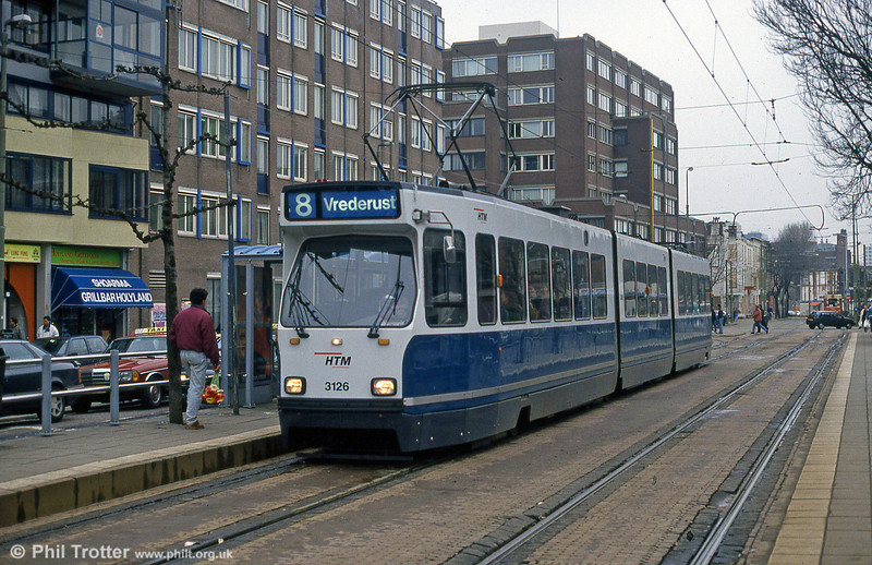 Car 3126 at Holland Spoor on 15th April 1994.